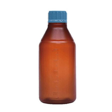 بطری درپیچ دار رنگی